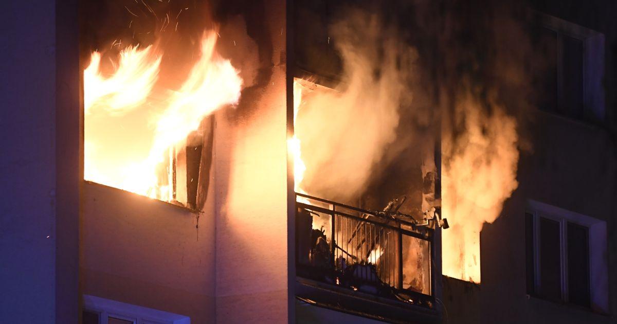 Oheň v byte